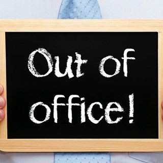 "10 tips om ""out of office"" optimaal in te zetten"